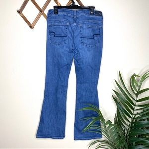 American Eagle Outfitters Jeans - American Eagle Medium Wash Kick Boot Jean